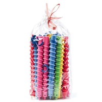 30 PCS Plastic  Hot Hair Root Fluffy  Styling Hair Rollers Curler Magic Spiral Perm Rod Bars Salon Hairdressing Tools