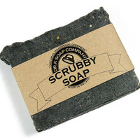 Working Hands Soap, Scrub Soap, All Natural Soap, Hand Soap, Scrubbing Soap for Gardeners, Mechanics