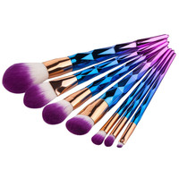 7 Pcs. Makeup Brush Set- Multi Color