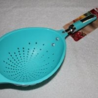 KitchenAid Pasta Scoop Colander, Turquoise