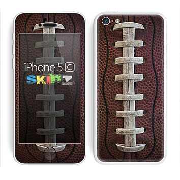 The Football Laced Skin for the Apple iPhone 5c