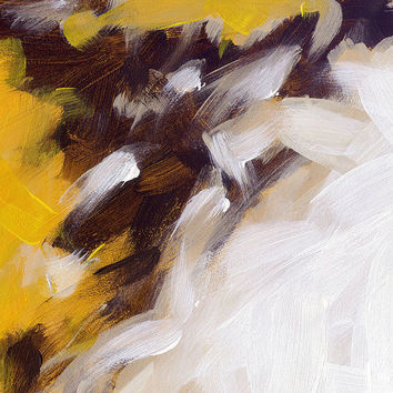 Abstract art canvas print with gallery wrap by FinnellFineArt