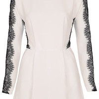 Lace Sleeve Playsuit - New In This Week  - New In