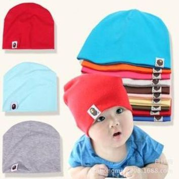 ONETOW Unisex Cotton Beanie Hat for NewBorn Cute Baby Boy/Girl Soft Toddler Infant Cap