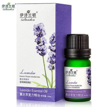 DCCKWQA ISILANDON Lavender Oil Essential Oil Acne Scars Remover Black Head Acne Treatment Skin Care Face Stretch Marks Massage Oil