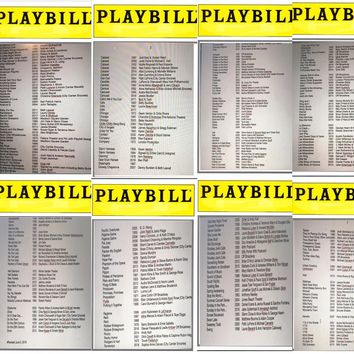 Playbills For Charity