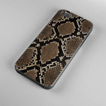 DS280-iPhone Case - Iphone 5 case-Iphone 5s case - Iphone 4 case - Iphone 4s case - Iphone Cover -Animal Print Snake iPhone Case