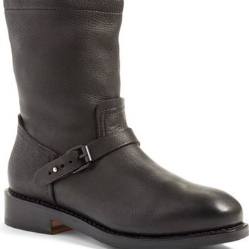 rag & bone 'Oliver' Elk Leather Engineer Boot (Women) | Nordstrom