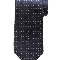 Banana Republic Mens Micro Print Silk Tie Size One Size - Navy