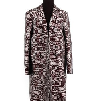 Dries Van Noten Swirl Overcoat