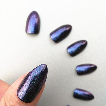 Galaxy Chrome Cat Claw Manicure Nail Kit - Salem