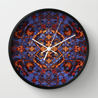 Lost in the Details Wall Clock by Lyle Hatch | Society6