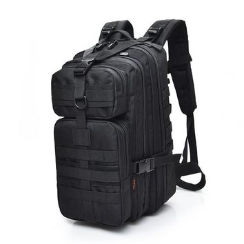 Outdoor Hunting Backpack Military Tactical Molle Backpack Rucksack Hiking Army Tactical Bag Travel Climbing Backpack Camping Bag