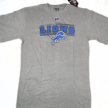 Detroit Lions NFL Team Apparel Critical Victory Short Sleeve T Shirt Size XLT