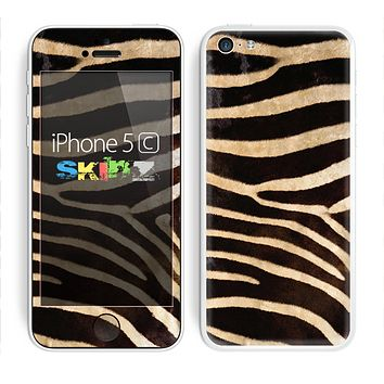 The Real Zebra Print Texture Skin for the Apple iPhone 5c