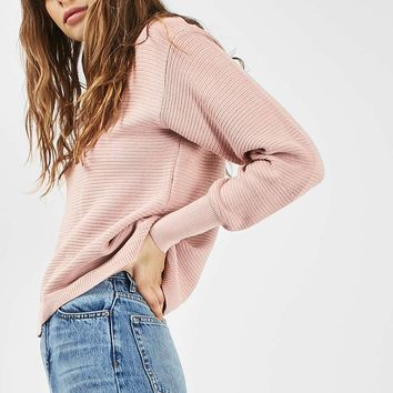 TALL Cocoon Horizontal Sweat Top | Topshop