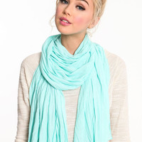 SOLID COLOR SCARVES