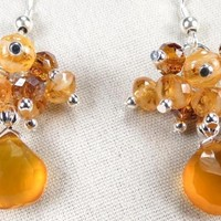Reserved For Facebook Raffle - RUSSIAN HONEY Earrings