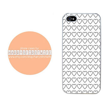Black Hearts iPhone 4/4s 5/5s/5c/6/6 plus iPod 4/5 & Galaxy S5 Case
