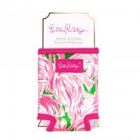 Lilly Pulitzer Drink Hugger - Pink Colony
