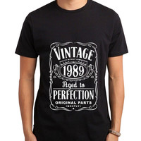 Vintage Aged Of Perfection 26th Men Tshirt