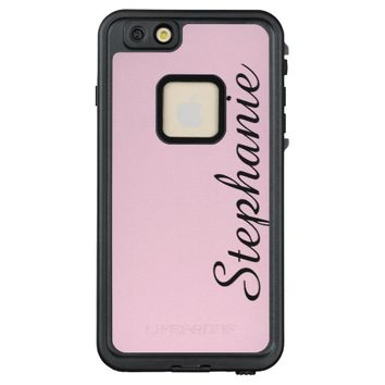 CHOOSE YOUR COLOR Custom Phone Case with Name