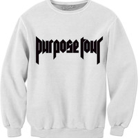 PURPOSE TOUR SWEATSHIRT