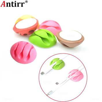 Multipurpose Cable Winder clamp protector Earphone Organizer USB Charger Wire Cord Desk Fixer Holder PC Data line Tidy Collation