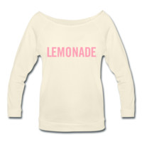 Lemonade Wideneck 3/4 Sleeve Shirt | D.jones