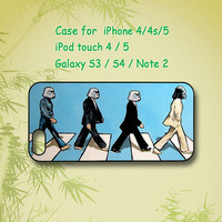 The Beatles, Abbey Road , Star Wars - Samsung Galaxy S4, Samsung Galaxy S3 , Samsung Galaxy note 2, iPhone 4 Case, iPhone 5 Case, phone case