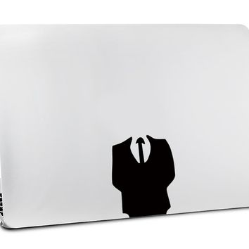 Dress Up Headless Man Sticker for Apple MacBook Air 11 13 Pro 13 15 17 Retina Personal Local Vinyl Decal Skin Laptop