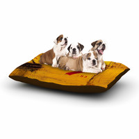 """Steve Dix """"7S3"""" Yellow Painting Dog Bed"""