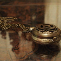 Steampunk Tarnished Gear Miniature Pocket Watch by punqd on Etsy