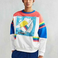 adidas Sailing Graphic Crew-Neck Sweatshirt