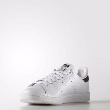 ONETOW Adidas Originals Mens Stan Smith Leather Trainers Sports Gym Shoes White (#9561)
