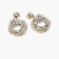 J.Crew Womens Crystal Wreath Earrings