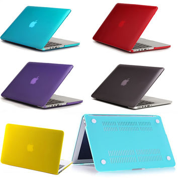 "Top Quality Hot Sale Surface Matte Hard Cover Case For apple Macbook Retina 13.3""(Model:A1425/A1502) Laptop Case"