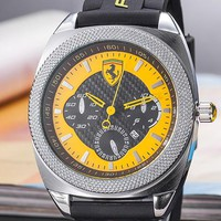 Ferrari Tide brand fashion men and women models wild casual quartz watch #3