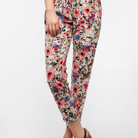 Urban Outfitters - Lucca Couture Floral Print Pull-On Pant