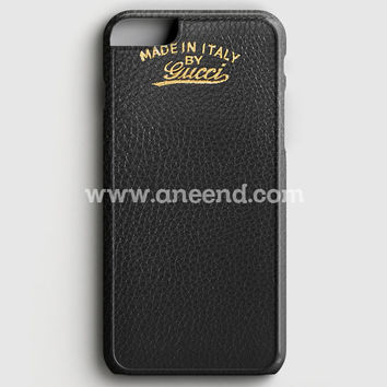Gucci Light Bamboo Shopper Leather iPhone 7 Case | Aneend