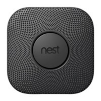 Nest Protect Battery Smoke and Carbon Monoxide Detector, Black-S3000BBES - The Home Depot