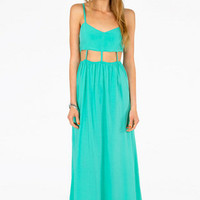 Disconnected Maxi Dress $46