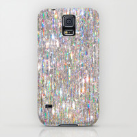 To Love Beauty Is To See Light (Crystal Prism Abstract) Galaxy S5 Case by Soaring Anchor Designs