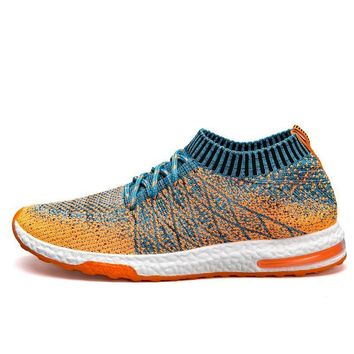 Breathable Mesh Summer Running Shoes for men Cushioning sneakers Outdoor Walkng joggin