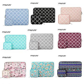 Mosiso 11.6 13.3 15.6 inch Laptop Sleeve Bag for MacBook Air Pro 11 13 15 Chromebook Asus Acer Notebook Handbag Case