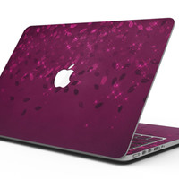 Faded Falling Leaves Of Burgundy - MacBook Pro with Retina Display Full-Coverage Skin Kit