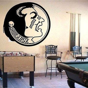 NCAA Florida State Seminoles Logo Wall Art Sticker Decal (S226)