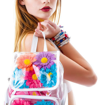 UNIF Casual College Comfort Hot Deal Stylish Back To School On Sale Summer Transparent Backpack [6341279492]