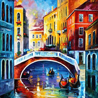 "Venice Morning  — Oil Painting On Canvas By Leonid Afremov. Size: 30""x40"" Italy"