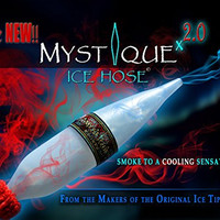 "Mystique Hookah Ice Hose Tip Freezable Hookah Tip for Cooler Smoke 13"" Long for Hookah Huka Hooka Shisha Sheesha"